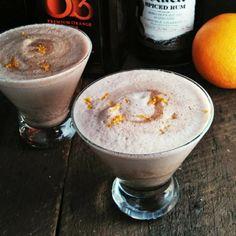 Tonight's #christmas cocktail: chocolate-orange tom & jerry #CaptainsTable