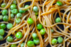 pasta with green peas