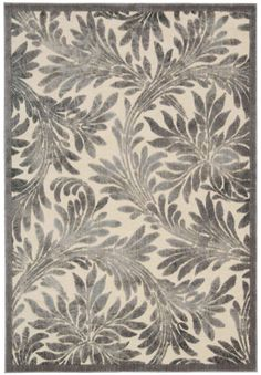 Nourison Rugs Graphic Illusions GIL19 Ivory
