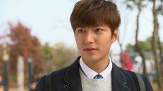 Did Lee Min Ho postpone military service for graduate school?