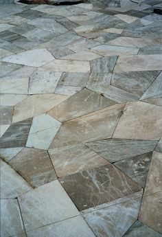 Nice geometric shapes, really cool for a back patio.