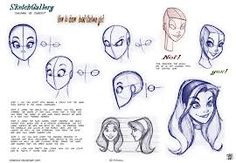 how to draw disney style - Google Search Más