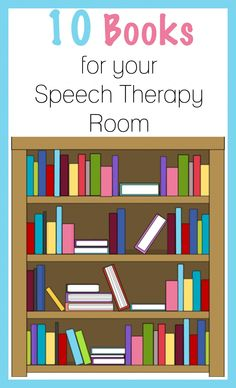 BusyBug Kits: 10 Must Have Books for Speech Therapy. Pinned by SOS Inc. Resources. Follow all our boards at pinterest.com/sostherapy/ for therapy resources.