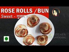 Turkish Sweet Rose Pastry, Rose Buns, Rose Rolls Recipe in Hindi | Rose shaped dessert recipe - http://www.bestrecipetube.com/turkish-sweet-rose-pastry-rose-buns-rose-rolls-recipe-in-hindi-rose-shaped-dessert-recipe/