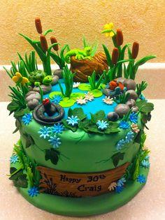 Swamp / Pond Cake