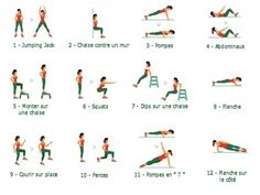 7 minutes workout : fitness express à la maison - Onmeda.fr