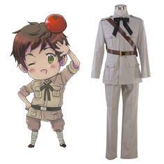 Axis Powers Hetalia Spain Antonio Fernandez Carriedo 1ST Cosplay Costumes