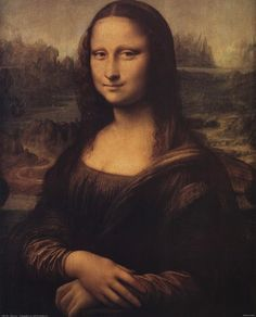 Mona Lisa, c.1507 by Leonardo Da Vinci art print