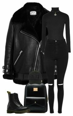 """""""Sans titre by girl-tour ❤ liked on Polyvor. Winter Fashion Outfits, Look Fashion, Autumn Winter Fashion, Korean Fashion, Winter Outfits, Womens Fashion, Fashion Weeks, Milan Fashion, Fashion Tips"""