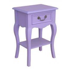 Table chevet 1 tiroir  en bois massif ''Guyenne''