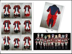 AKB0048 Cosplay Costume Any Size