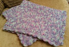 Baby chair blanket 22x28