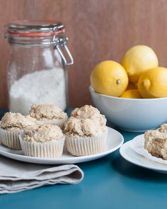 Lemony Gluten-Free Coconut Muffins
