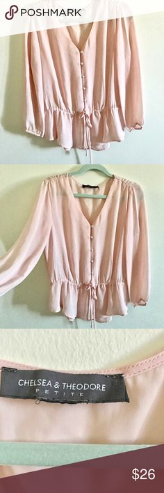 Really cute Blouse Never worn ! Fits S-M  looks really classy and cool ! Soft material ! Tops Blouses