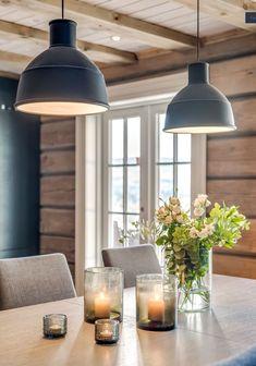 Rustic Log Homes 🍒 Design Room, Küchen Design, Home Design, Scandinavian Apartment, Cabin Interiors, Cottage Design, Log Homes, Interior Design Living Room, Interior Inspiration