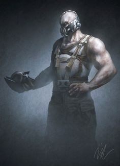 Bane...more than just a hulking savage with huge muscles.  He is an intelligent ruthless master strategist with the ability to BREAK THE BAT!!! (Tom Hardy did great betraying this awesome villian!)
