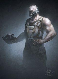 very cool Bane art