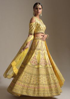 Presenting you latest Haldi Outfit ideas for Bride. From yellow haldi outfit to designer haldi outfit, we have got variety dresses. #shaadisaga #indianwedding #haldioutfitforbride #haldioutfitforbridelatest #haldioutfitforbrideunique #haldioutfitforbrideyellow #haldioutfitforbridesimple #haldioutfitforbridebest #haldioutfitforbridewhite #haldioutfitforbridesaree #haldioutfitforbridetrendy #haldilehenga #haldilehengayellow #haldilehengaforbride #haldilehengasimple #haldilehengadesigns #lehenga Pink Bridal Lehenga, Bridal Lehenga Online, Designer Bridal Lehenga, Indian Bridal Lehenga, Lehenga Choli Online, Orange Lehenga, Raw Silk Lehenga, Pink Lehenga, Bridal Lehenga Collection