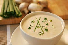 Raw Edibles: Dairy-Free Cream of Mushroom Soup
