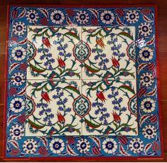 Turkish Ceramic Tiles: Hyacinth and Tulip Kitchen Wall Tiles, Ceramic Wall Tiles, Mosaic Tiles, Turkish Tiles, Turkish Art, Turkish Design, Art Asiatique, Ottoman, Antique Tiles