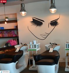 Get Your Salon Wall Art Face Decals Today! Very Limited Stock Available, They Will Sell Out Soon! Delivery in 12-20 days (USA orders) Dimensions: 29 Inch W x 2