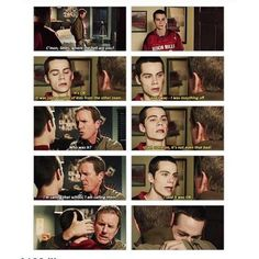 Teen Wolf: can we please take a moment to appreciate how much Sheriff Stilinski loves his son? Dylan O'brien, Teen Wolf Dylan, Teen Wolf Cast, Teen Wolf Quotes, Teen Wolf Funny, Teen Wolf Memes, Teen Wolf Ships, Teen Wolf Seasons, Bae