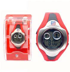 Reloj pulsera digital Juvenil Atletico de Madrid - Reloj pulsera digital tamaño juvenil del Atletico de Madrid, esfera:47mm