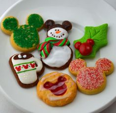 Disney inspired Mouse Christmas Cookies for by StaceyMorganStudios
