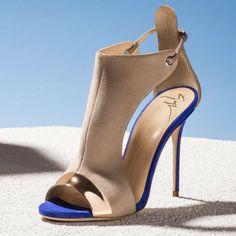 myshoebazar: Giuseppe Zanotti Caitie Leather Heels
