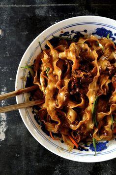 """Zha Jiang Mian (炸酱面), or """"Fried Sauce Noodles…"""""""