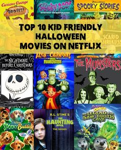 the top 10 kid friendly halloween movies on netflix - Top Halloween Kids Movies