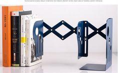 Выдвижной складной Моды Настольная Книга держатель металла файлов office организация хранения шкаф для Украшения Дома купить на AliExpress