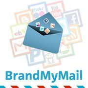 BrandMyMail offers a way to send out professional-looking messages as well as capture open stats and click rates.
