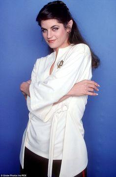"""Kirstie Alley as Lt. Saavik in """"Star Trek II The Wrath Of Khan"""""""