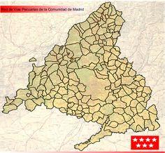 Mapa de Vías Pecuarias - Vías Pecuarias de Madrid
