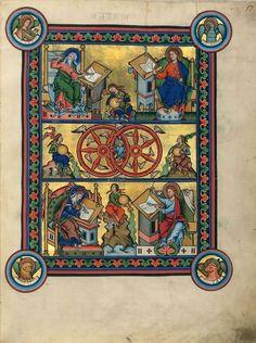 Evangéliaire de Mayence, 2
