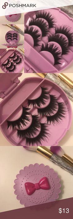29493af3c2c Wispy lashes + Eyelash Case # tags Iconic, mink, red cherry eyelashes, house