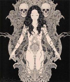 "from ""Necrophantasmagoria"" by Takato Yamamoto"