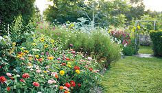 "Gardening as a form of creative expression. ""Plants are the paints you use to create the ultimate landscape art piece."""