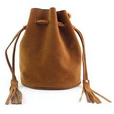 02fca61399 Women Fashion Tassel Drawstring Handbag Shoulder Bag Large Tote Ladies  Purse Casual Vintage Scrub PU Large