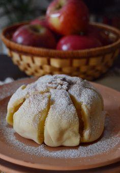 Citromhab: Sült alma tésztaköntösben