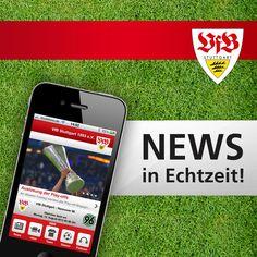 Jetzt geht´s App! NETFORMIC realisiert offizielle iPhone & Android App für den VfB Stuttgart 1893 e.V.