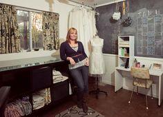 cool sewing studio