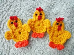 Вязание крючком: Цыплёнок за 20 минут // Chicken for 20 minutes Crochet