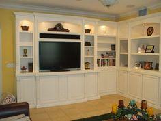 Wall Units U0026 Entertainment Centers. Built In TV CabinetBuilt ...