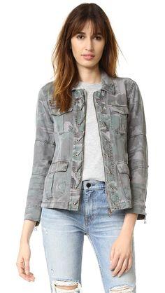 Pam & Gela Lace Up Jacket