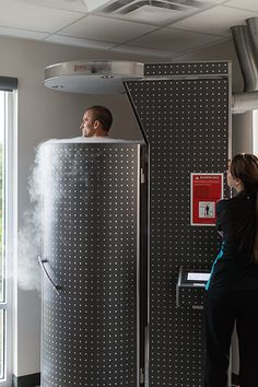 Whole Body Cryotherapy in San Antonio | Stratton Sport http://www.cryojetsystem-france.com #CryoSauna #Cryothérapie #BienEtre #MieuxEtre #Beauté #Soin #Spa #StayYoung #StayFit #StayShape #StayHealthy #StayStrong