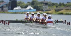 Canada's women's eight rowing crew has scored an Olympic silver medal. (Reuters) 2012 London