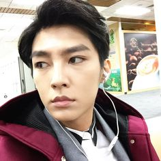 """"""" (Aaron's FB Update): Sometimes I want to imagine I'm like a crazy person, only knowing how to love and yet not knowing what heartbroken is is such a great feeling. Really, sometimes waking up is the. Crush Pics, My Crush, Refresh Man, Aaron Yan, Sexy Asian Men, The Revenant, Asian Actors, Interview, Hair Beauty"""