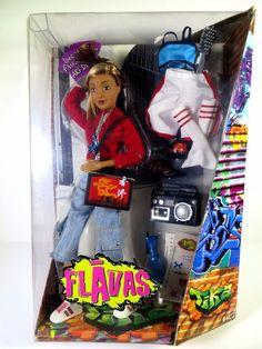 NIB FLAVAS DOLL 2003 TIKA CREW #Unbranded